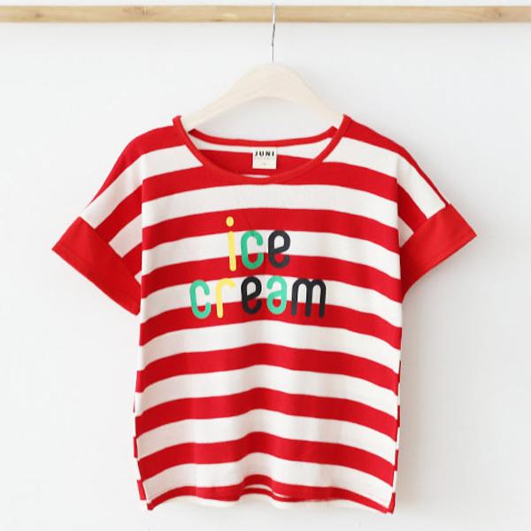 또래친구 아동용 아이스크림 티셔츠