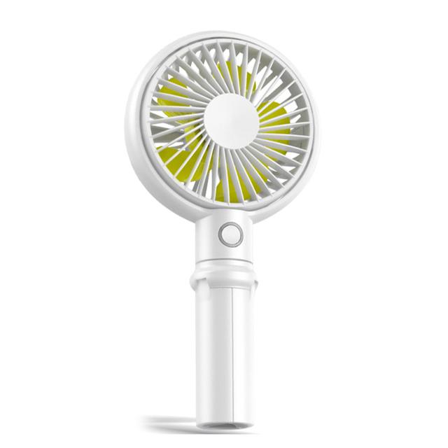 아이엠듀 휴대용 미니 선풍기 3in1, F12, 혼합 색상