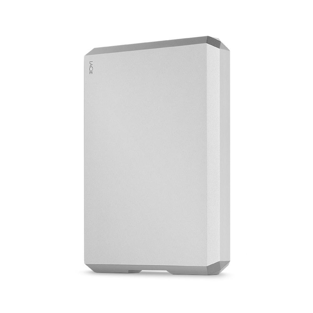 LACIE Mobile Drive USB C 외장하드 STHG4000400, 4TB, Silver