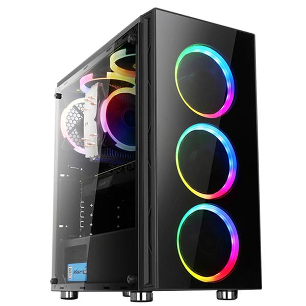 AMD 슈퍼스타PC NO.23 고사양게임용 조립 PC (R7 2700 WIN미포람 DDR4 16G SSD 240G + HDD2TB GTX1660Ti), 단일 상품, 기본형