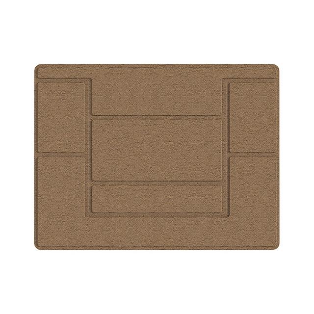 플럭스 부착식 접착 노트북 맥북 일체형 스탠드 접이식 거치대, 카키