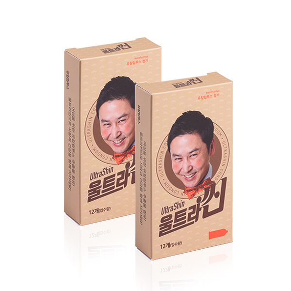 신동엽 콘돔 울트라씬 초박형, 12개입, 2개