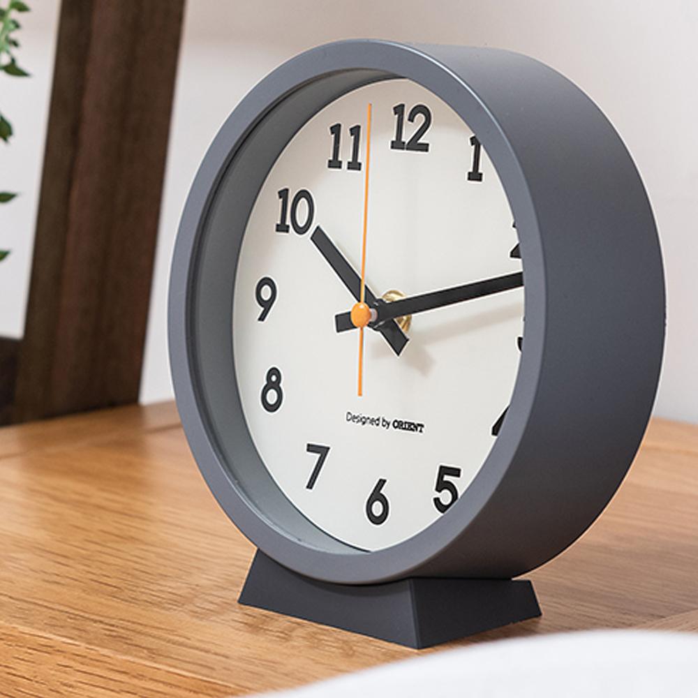 오리엔트 벽탁상겸용 인테리어시계 OT1616G, 혼합 색상