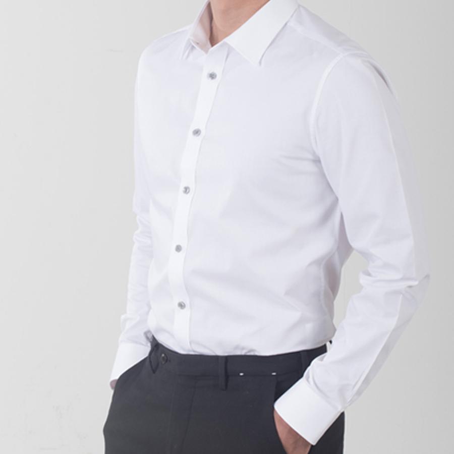 셔츠온리 남성용 링클프리 슬림핏 와이셔츠