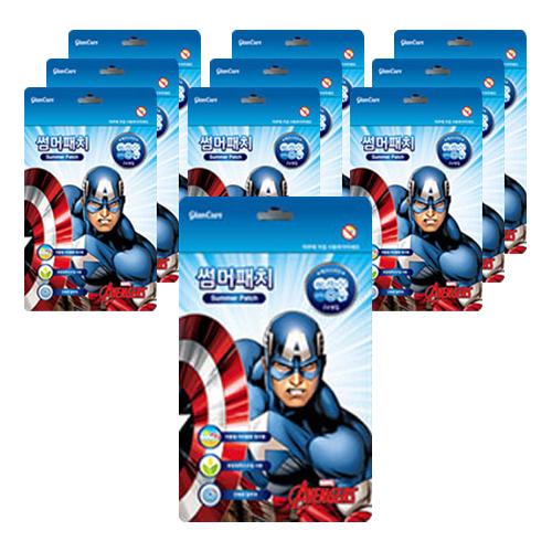 마블 썸머패치 캡틴아메리카 24p, 10세트
