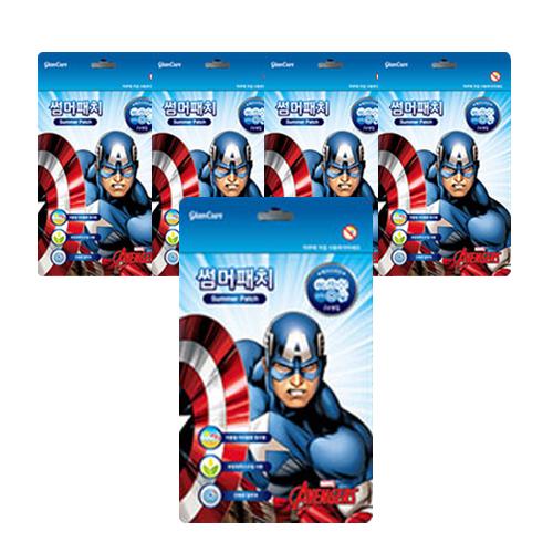 마블 썸머패치 캡틴아메리카 24p, 5세트
