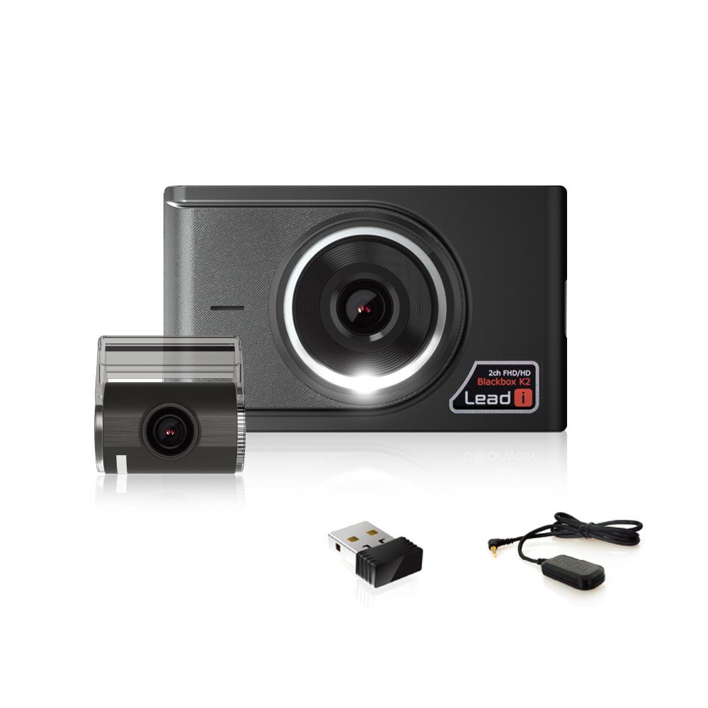 리드아이 FHD 와이파이 블랙박스 K2 32GB + GPS + 동글 세트