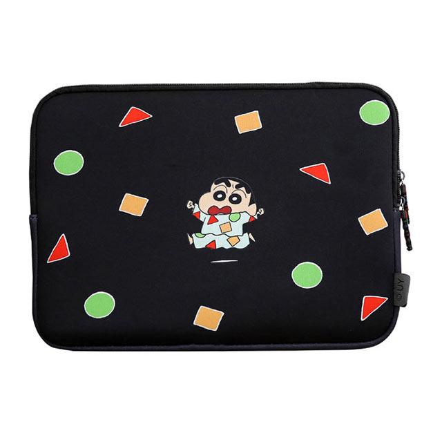 짱구 노트북 가방 파우치, 블랙