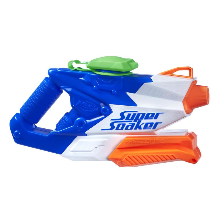 너프 수퍼소커 프리즈파이어 2.0 물총, 혼합 색상