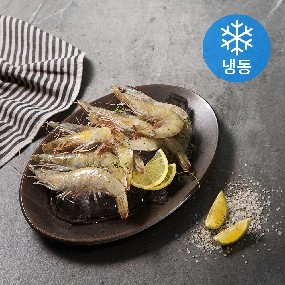 흰다리 새우 (냉동), 600g, 1팩