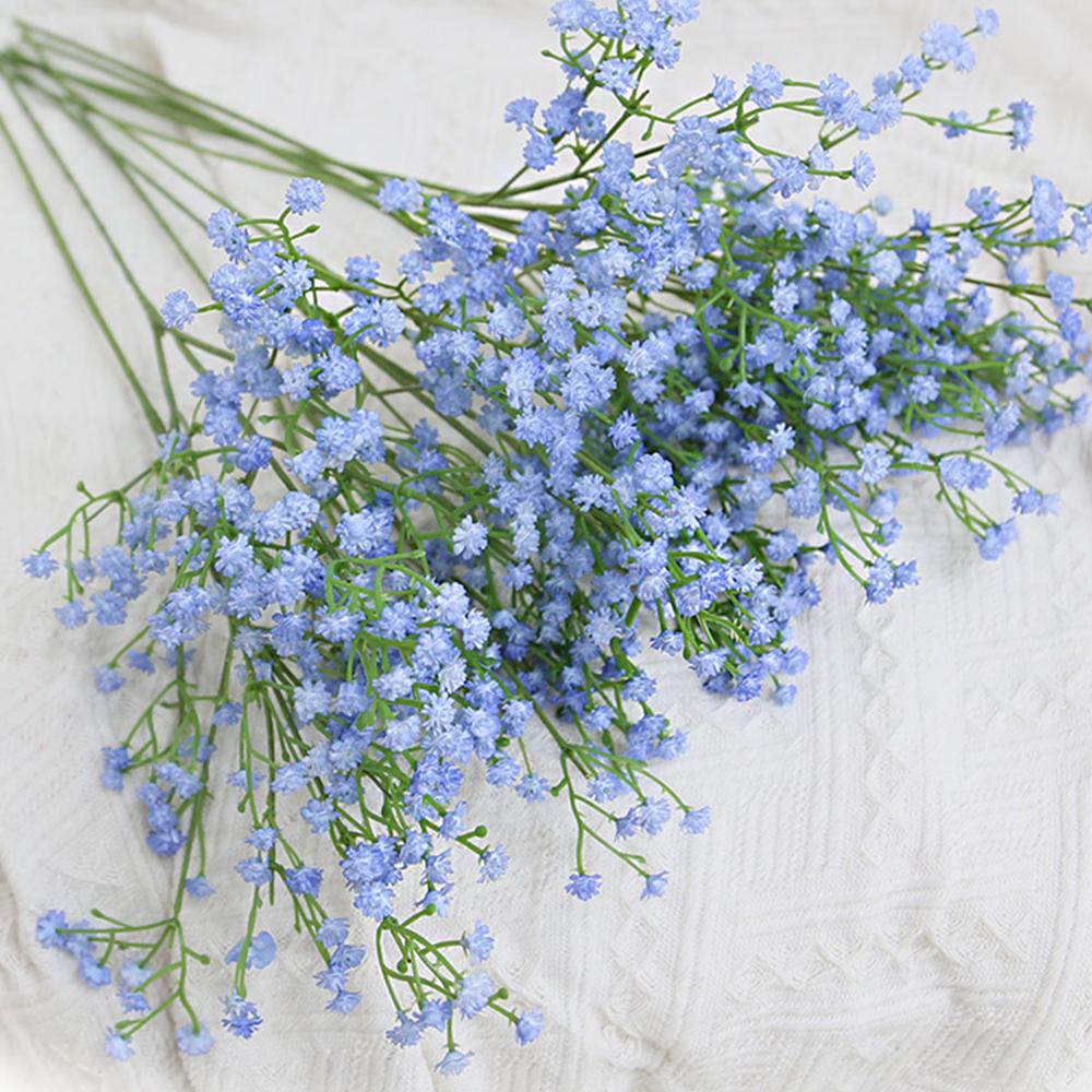 조아트 조화 고급 안개꽃가지 5p 세트 2세트, 블루 (POP 247140098)