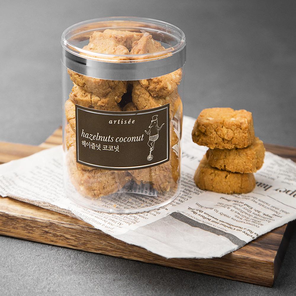 아티제 헤이질넛 코코넛 쿠키, 80g, 1개