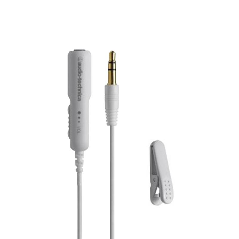 오디오테크니카 볼륨컨트롤 연장선, AT3A50ST 0.5M WT, WT