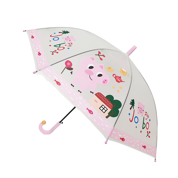 해피타운 애니멀 자동우산