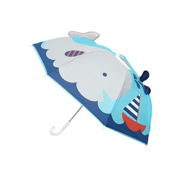 해피타운 고래선장 입체우산 유아동우산