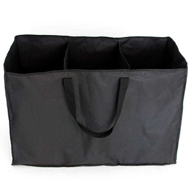 키친구 다용도 재활용 분리수거함, 블랙, 1개