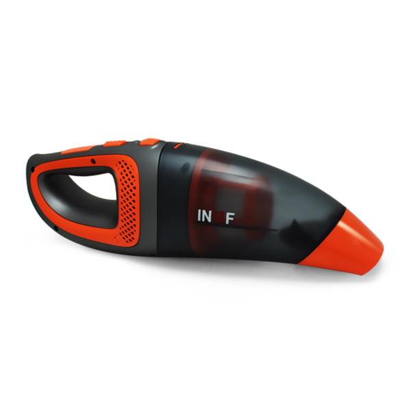 이나프 2in1 무선 진공청소기 ILVH-2000R, 레드오렌지