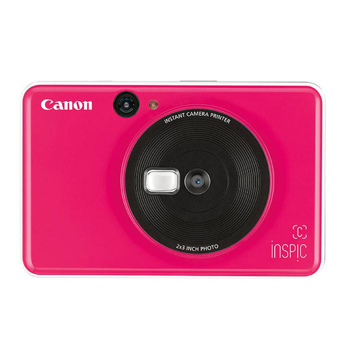캐논 인스픽C 즉석카메라 CV-123A + 인화지 10p, CV-123A-BGP(핑크), 1세트