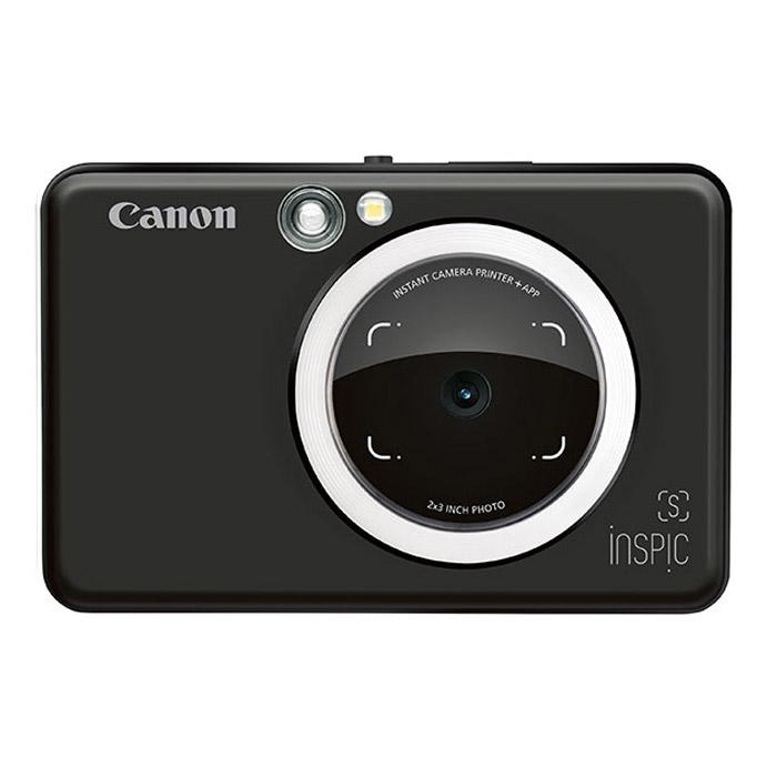 캐논 인스픽S 즉석카메라 ZV-123A + 인화지 10p, ZV-123A-MBK(블랙), 1세트