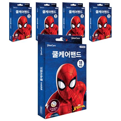 마블 스파이더맨 썸머키즈 쿨케어겔밴드, 5개 (POP 249272182)