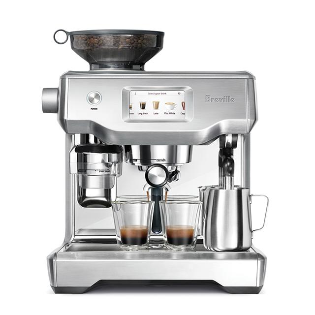 브레빌 오라클 터치 커피머신 실버, BES990
