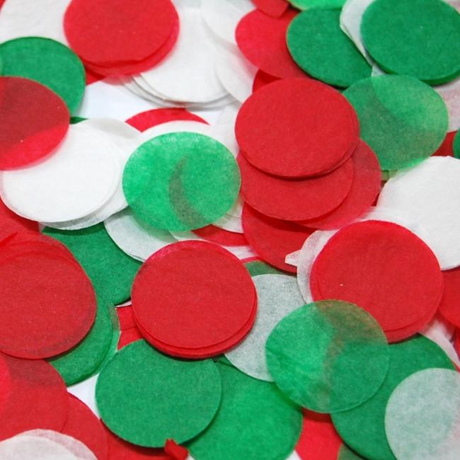 파티쇼 파티컨페티꽃가루 3p, 크리스마스하모니