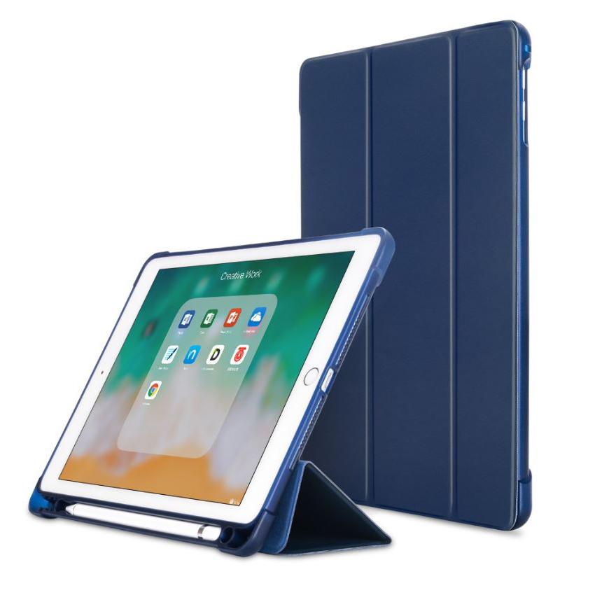 뉴비아 소프트젤리 스마트커버 태블릿PC 케이스, 네이비
