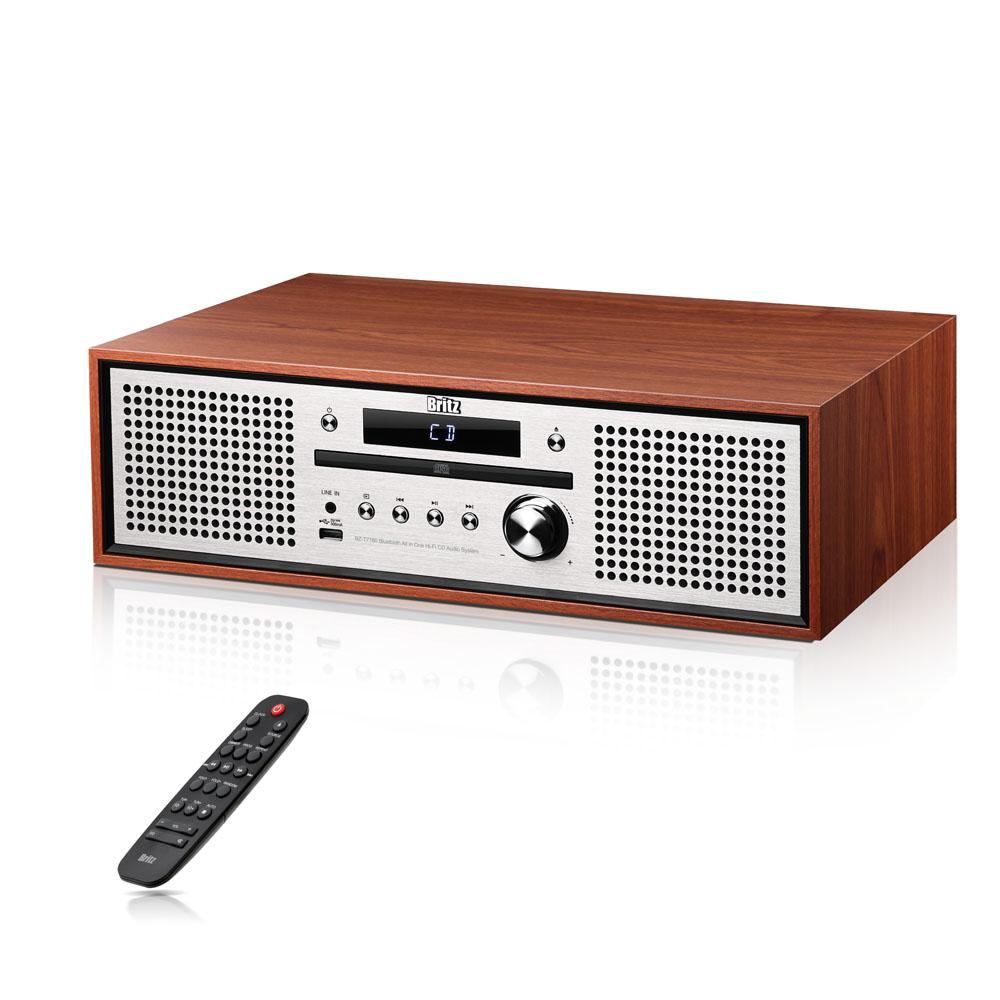 브리츠 Hi-Fi 블루투스 오디오, BZ-T7780, 혼합 색상