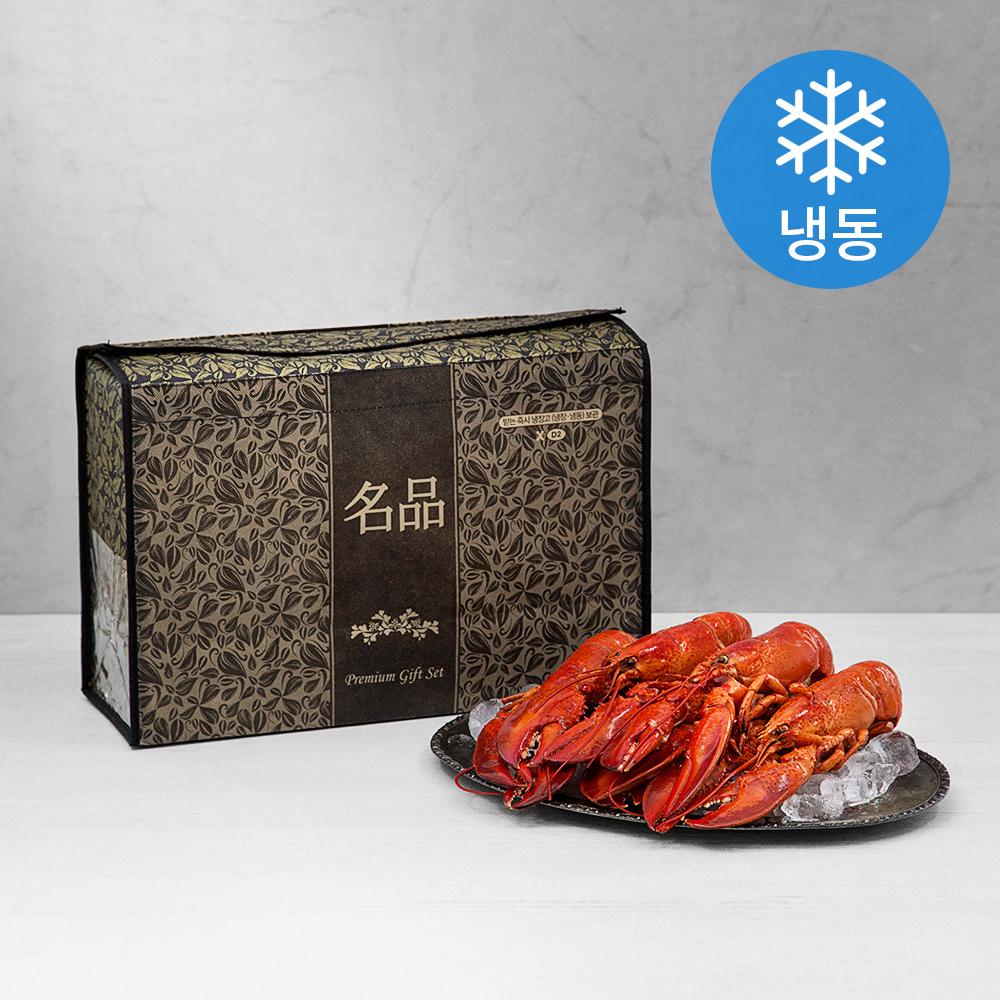 캐나다 자숙 랍스터 세트 (냉동) + 부직포가방, 2kg 내외, 1세트