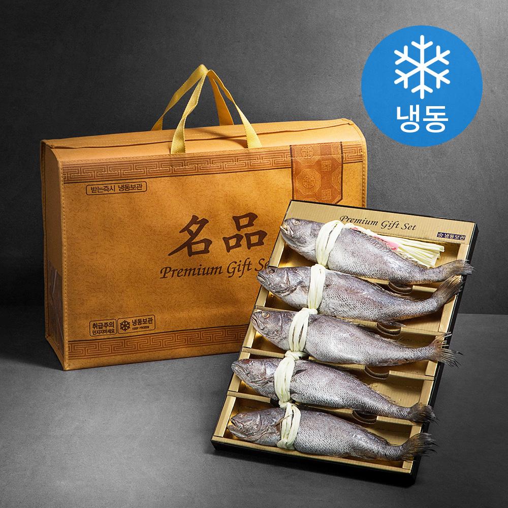 2/7 도착_민어굴비 5미 (냉동) + 부직포가방, 1.7kg, 1개