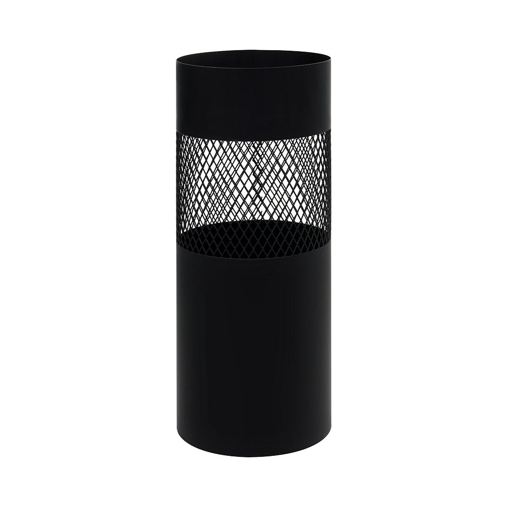 비스비바 메쉬 원형 철제 우산꽂이 블랙, 1개