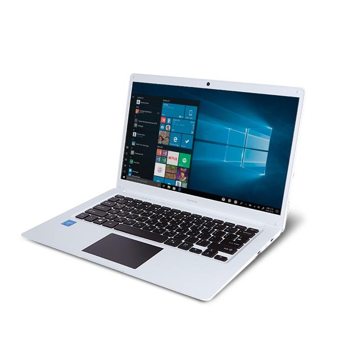 아이뮤즈 노트북 StormBooK14SO (Celeron N3350 35.8cm WIN10 eMMC 32G), 128GB, 4GB, 퓨어화이트