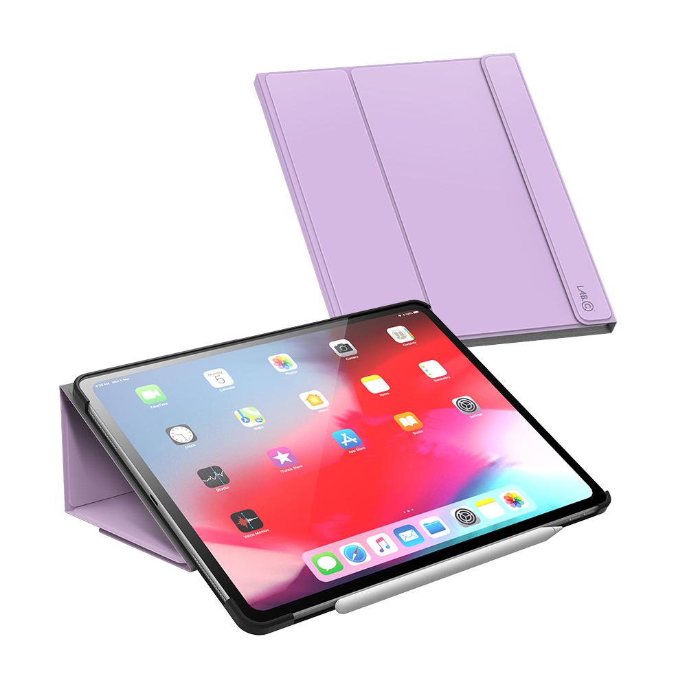 랩씨 마카롱 스마트커버 태블릿PC 케이스, 라벤더