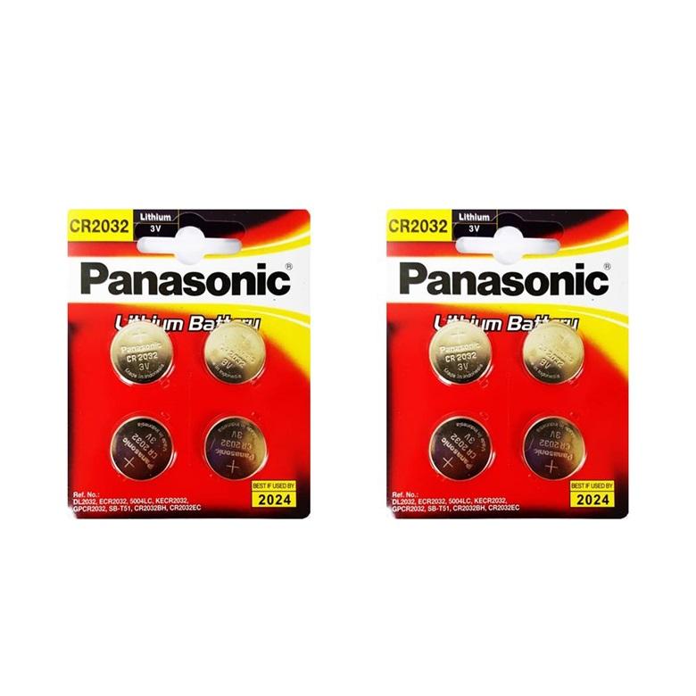 파나소닉 코인형 리튬 건전지 CR2032, 4개입, 2개