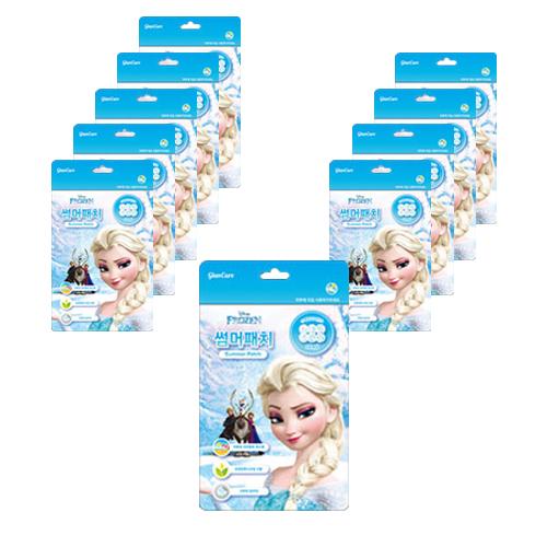 디즈니 겨울왕국 썸머패치 24p, 12g, 10개
