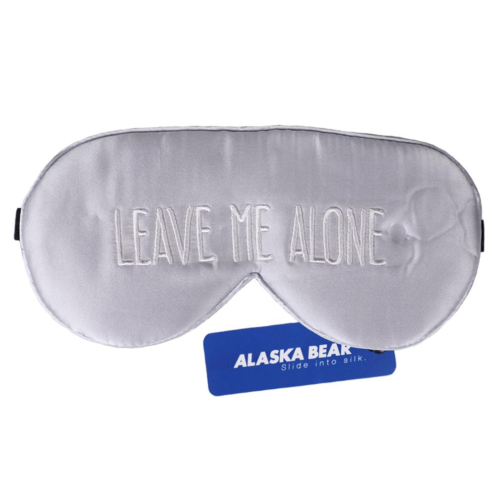 알래스카베어 수면 실크안대 고급스럽게 혼자쉬고싶어요, 1개입, 1개