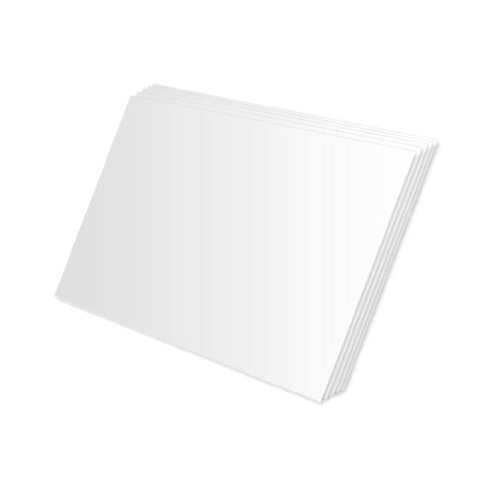 대원우드보드 백색원단보드 600 x 900 mm, 10mm, 5개