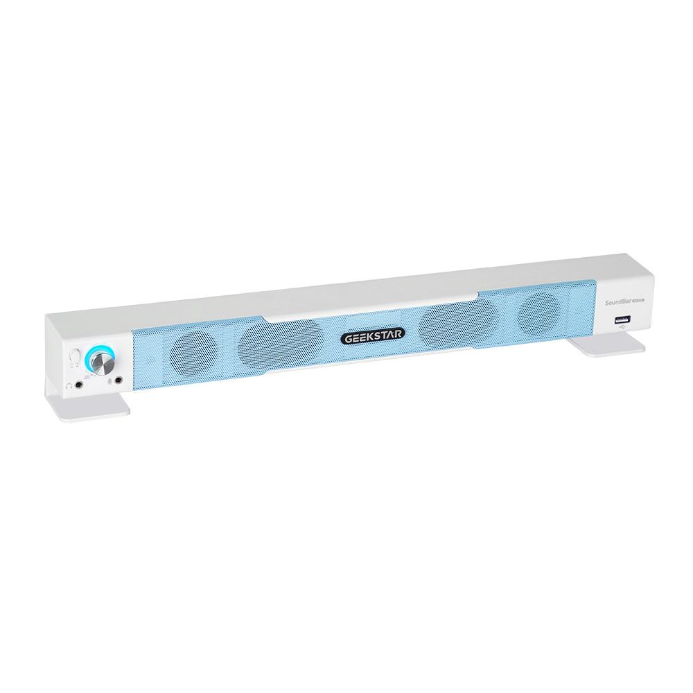 긱스타 게이밍 사운드바 PC용 스피커, GS1000, 블루