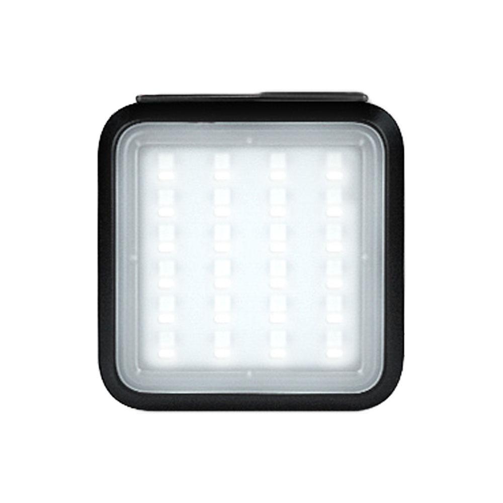 나가자 레인보우 스마트어플 LED 256컬러 캠핑랜턴 NSL-5500, 올블랙, 1개