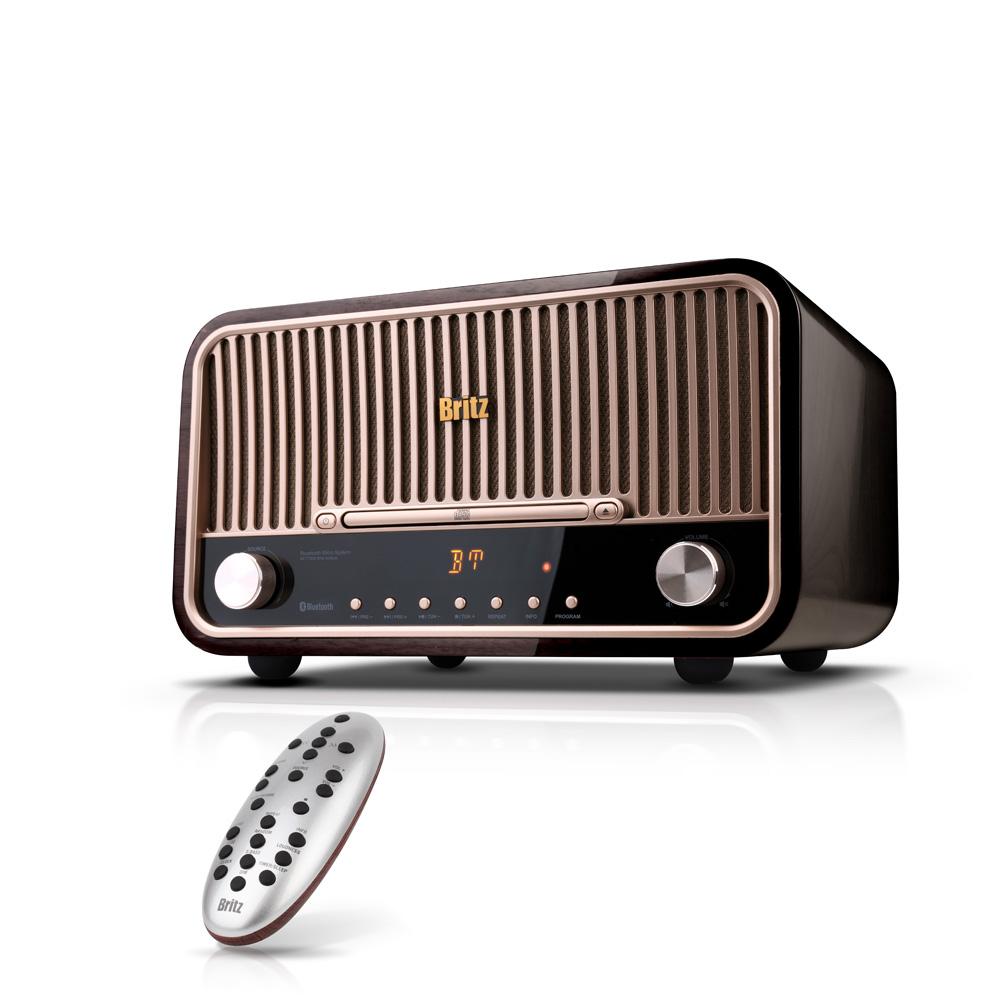 브리츠 블루투스 오디오 스피커 CD플레이어, BZ-T7900, 혼합 색상