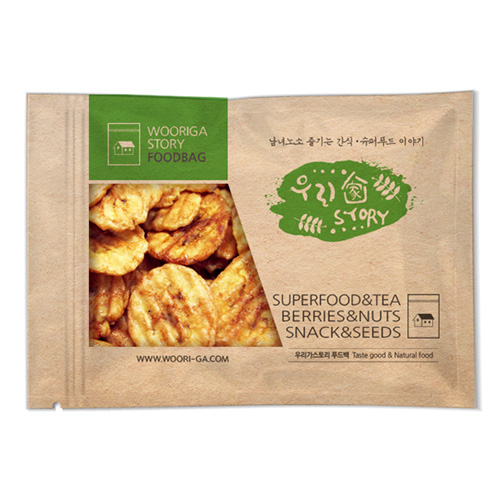 우리가스토리 구운 바나나칩, 900g, 1개
