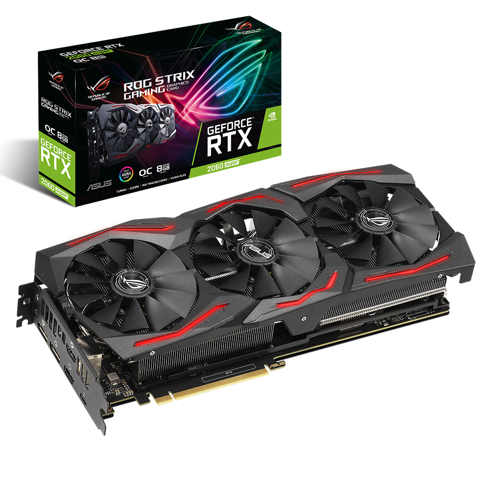 에이수스 ROG STRIX 지포스 그래픽카드 ROGSTRIXRTX2060SO8GGAMING 8GB