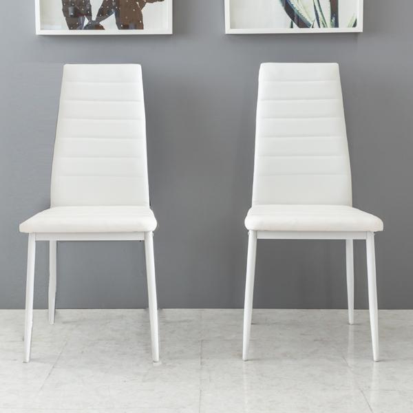 노아가구 부카 의자 2p, 화이트