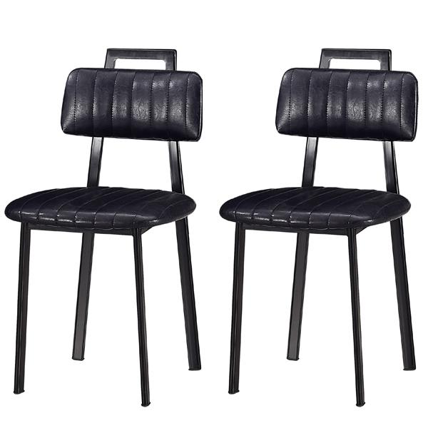 노아가구 시스카 의자 2p 블랙