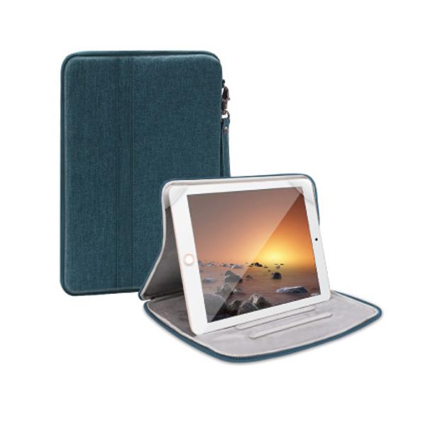 오펜트 거치가능 케이스 포켓 태블릿PC 파우치, 그린