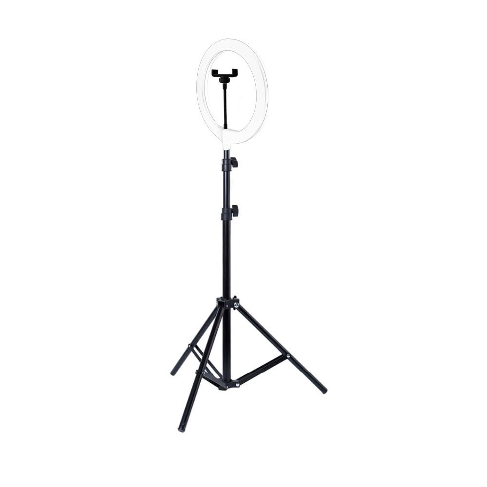 컴썸 링라이트 조명 화이트 + 삼각대 세트, LED-260, 1세트