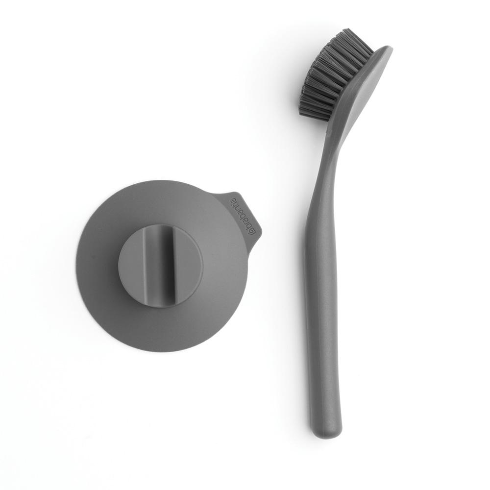 브라반티아 설거지 브러쉬, 다크 그레이, 1세트