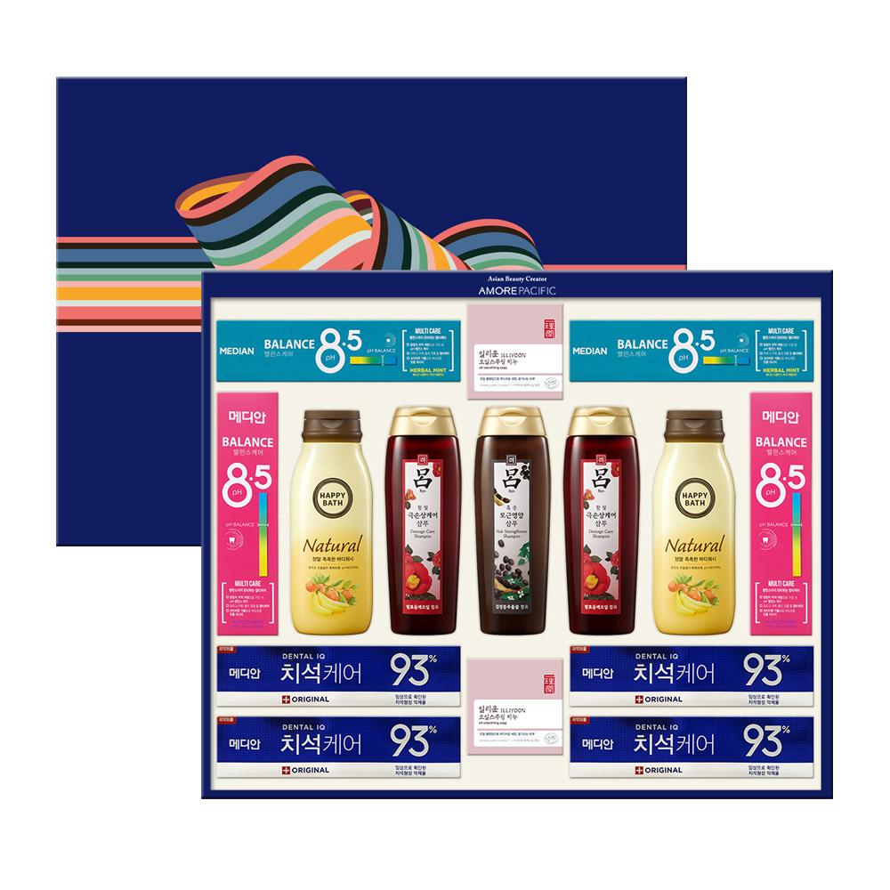 아모레퍼시픽 AP 득템 5호 바디케어 선물세트 + 쇼핑백, 1세트
