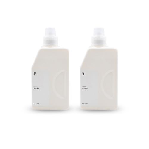 생활공작소 세탁세제 릴리향, 1.5L, 2개