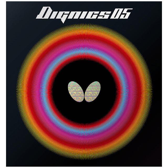 버터플라이 탁구러버 디그닉스 05, BLACK